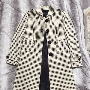 Banana republic fitted tweed coat size XS